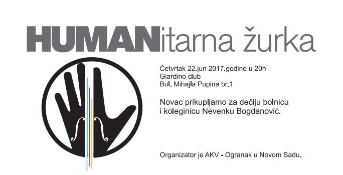 "Хуманитарна журка 22.06.2017. - клуб ""Giardino"""